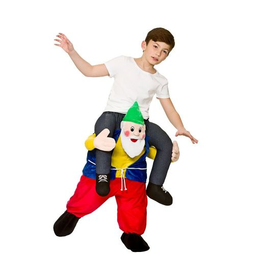 Childrens Carry Me - Funny Dwarf Costume Unisex Fancy Dress
